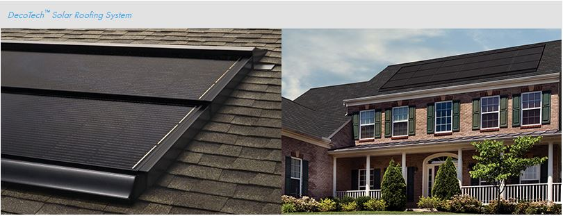 A-1 RoofingDecoTech Solar Roofing System